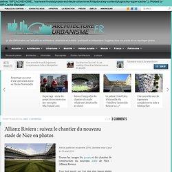 Le futur stade de l'OGC Nice par le cabinet Wilmotte et Vinci