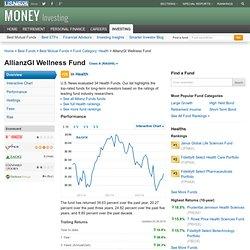 AllianzGI Wellness Fund (RAGHX)