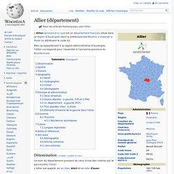 Allier (département)