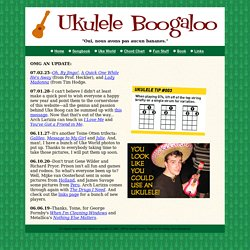 Alligator Boogaloo presents UKULELE BOOGALOO!