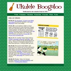 Alligator Boogaloo presents UKULELE BOOGALOO!