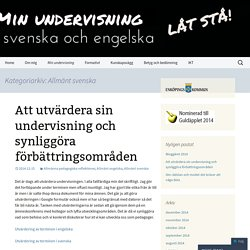 Allmänt svenska