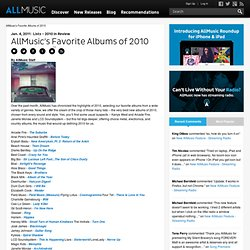 AllMusic's Favorite Albums of 2010