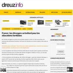 France : les étrangers se battent pour les allocations familiales