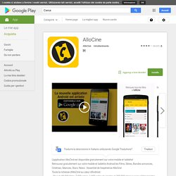 AlloCine - Google Apps sur l'Android Market