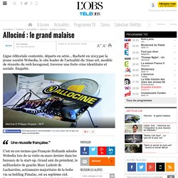 Allociné : le grand malaise -