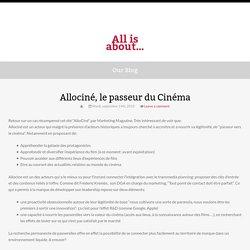 Allociné, le passeur du Cinéma