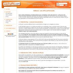 AlloTraffic - Rentabiliser son site Internet - Publicité CPC - CPM