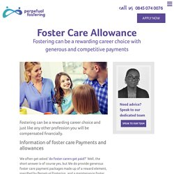Foster Care Allowance at Perpetual Fostering