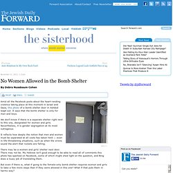 No Women Allowed in the Bomb Shelter