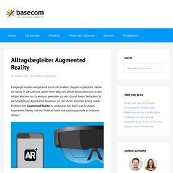 Alltagsbegleiter Augmented Reality