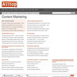 Alltop - Top Content Marketing News