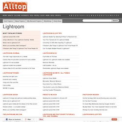 Alltop - Top Lightroom News