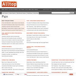 Alltop - Top Pain News