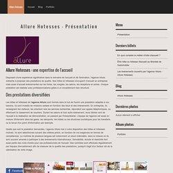 Allure Hotesses - Présentation