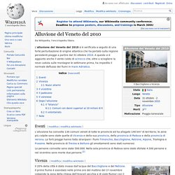 Alluvione del Veneto del 2010