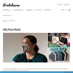 Ally Face Mask – Protohaven