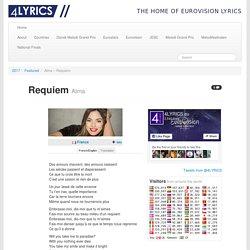 Alma – Requiem lyrics