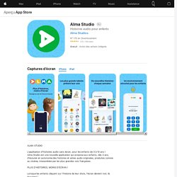 Alma Studio dans l'App Store