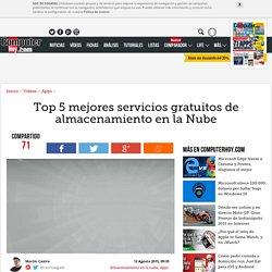 Top 5 mejores servicios gratuitos de almacenamiento en la Nube - ComputerHoy.com