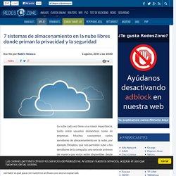 7 sistemas de almacenamiento en la nube libres donde priman la privacidad y la seguridad