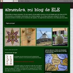almendra. mi blog de ELE: Preposiciones de lugar