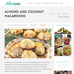 Almond and Coconut Macaroons