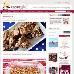 Almond Roca Recipe