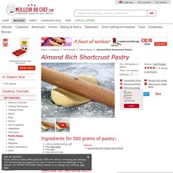 Almond Rich Shortcrust Pastry - Recipe with images