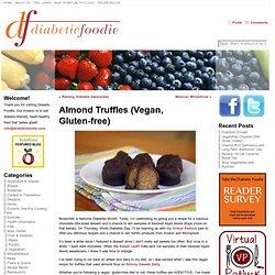 Almond Truffles (Vegan, Gluten-free) « Diabetic Foodie
