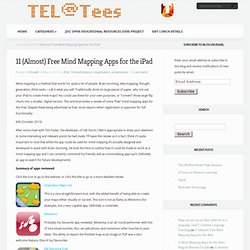 11 Mind Mapping Apps for the iPad