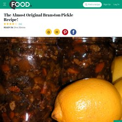 The Almost Original Branston Pickle Recipe! - 246675 - Recipezaa
