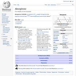 Alnespirone