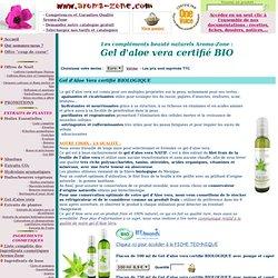 Gel d'aloe vera Biologique Aroma-Zone