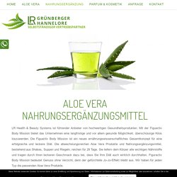 Aloe Vera Nahrungsergänzungsmittel
