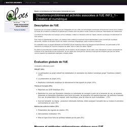 ALOES : Situations et/ou activités de l'UE