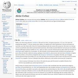 Aloïse Corbaz