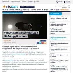 Végső álomba szenderült a NASA egyik szeme - Infostart.hu