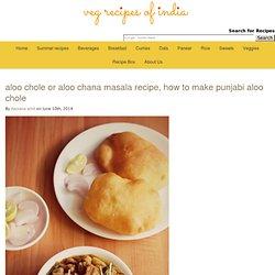 aloo chole or aloo chana masala recipe, how to make aloo chole masala