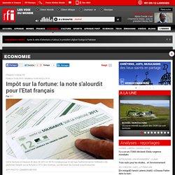 Impôt sur la fortune: la note s'alourdit pour l'Etat français - Economie