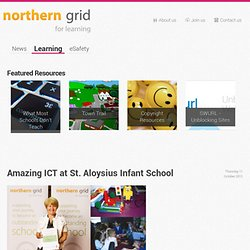 Amazing ICT at St. Aloysius Infant School - Northern Grid for Learning