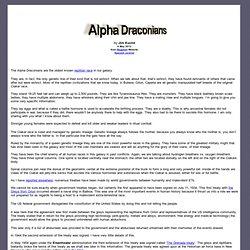 Alpha Draconians