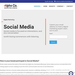 Alpha Co. Marketing & Media – Social Media