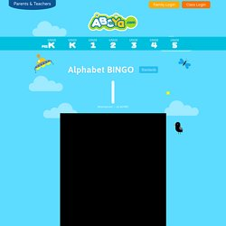 Alphabet BINGO - An activity for children to learn the alphabet