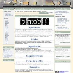 Alphabet hebraique juif de aleph beth