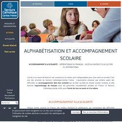 Alphabétisation et accompagnement scolaire