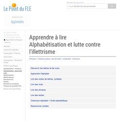 Alphabétisation - Illettrisme - Apprendre à lire - Primo-arrivants - Formation de base français