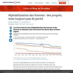 Alphabétisation des femmes : des progrès, mais toujours pas de parité