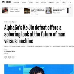 AlphaGo offers a sobering look into the future of man versus machine