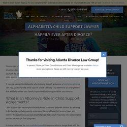 Alpharetta Child Support Lawyer